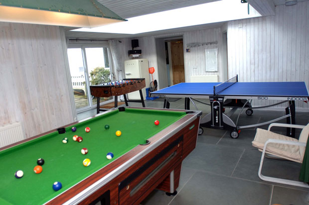 The games room