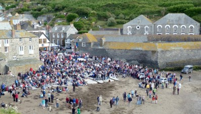 Fishermans Friends Return To Port Isaac